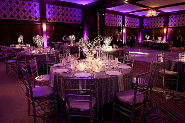 white dance floors A Winter Wonderland Wedding in Park City, Utah