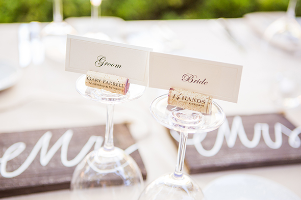 wine themed weddings