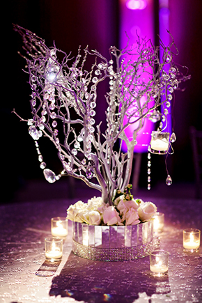 winter wedding centerpieces A Winter Wonderland Wedding in Park City, Utah