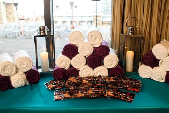 winter wedding favors A Winter Wonderland Wedding in Park City, Utah