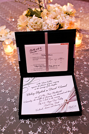 winter wedding invitations A Winter Wonderland Wedding in Park City, Utah
