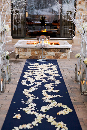winter white wedding ideas A Winter Wonderland Wedding in Park City, Utah