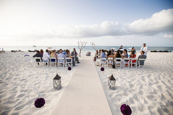 beach weddings in the carribean A Formal Beach Wedding in Turks & Caicos