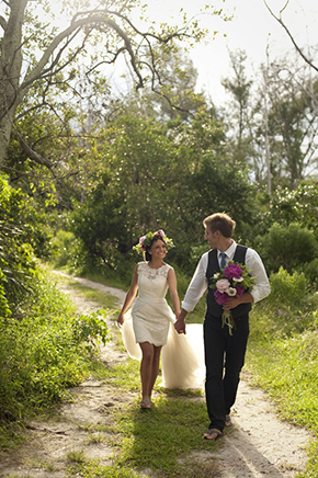 destination wedding dress Beach Elopement Styled Shoot
