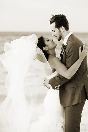 destination wedding photographer1 A Formal Beach Wedding in Turks & Caicos