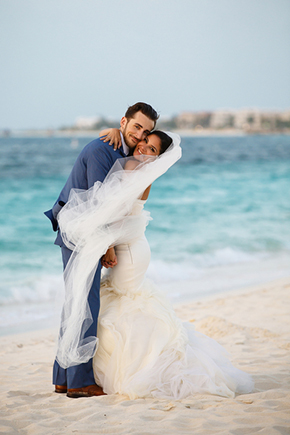 destination weddings turks caicos A Formal Beach Wedding in Turks & Caicos