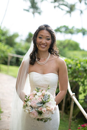 destination wedding dresses A Vintage, Rustic Wedding with a Tropical Twist in Lahaina, Maui