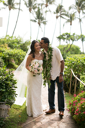 hawaii destination weddings A Vintage, Rustic Wedding with a Tropical Twist in Lahaina, Maui