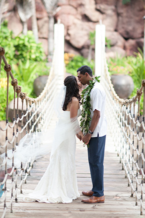 maui destination wedding A Vintage, Rustic Wedding with a Tropical Twist in Lahaina, Maui