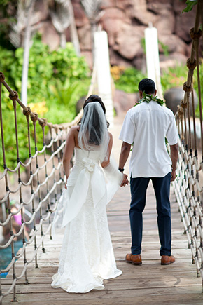maui weddings A Vintage, Rustic Wedding with a Tropical Twist in Lahaina, Maui