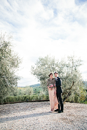 pink wedding dresses Vintage Wedding Details in Tuscany