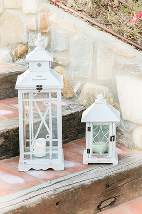 wedding lanterns Vintage Wedding Details in Tuscany