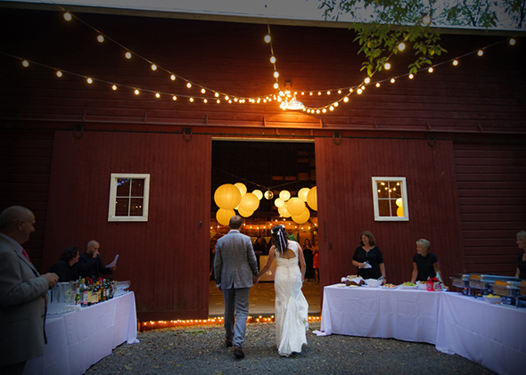 barn wedding A Rustic Outdoor I Do in High Falls, New York
