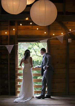 barn weddings A Rustic Outdoor I Do in High Falls, New York