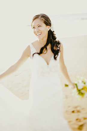 beach wedding dresses A Sweet Fairmont Kea Lani Maui Destination Wedding