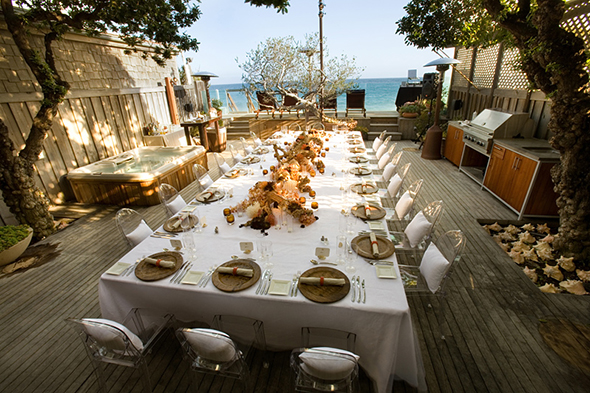 destination wedding tables Perfect Table Design for A Beach Wedding