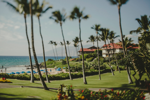 fairmont maui wedding A Sweet Fairmont Kea Lani Maui Destination Wedding