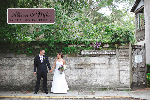 florida destination wedding Saint Augustine, Florida Destination I Do