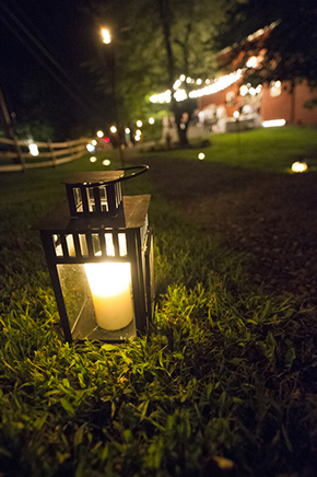 lantern wedding A Rustic Outdoor I Do in High Falls, New York