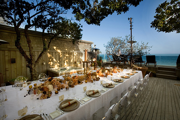 malibu beach weddings Perfect Table Design for A Beach Wedding