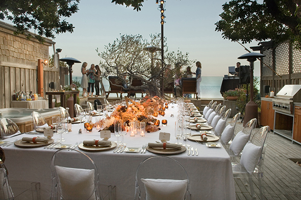 malibu wedding locations Perfect Table Design for A Beach Wedding
