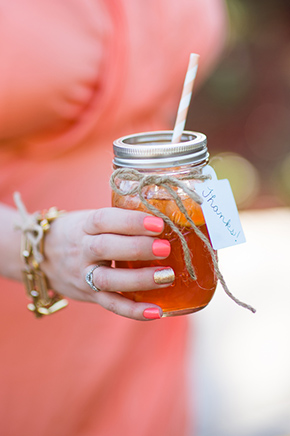 mason jar weddings An Off the Strip Las Vegas Wedding