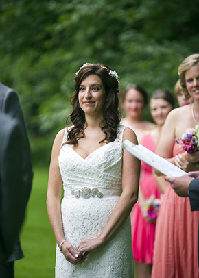 new york wedding A Rustic Outdoor I Do in High Falls, New York