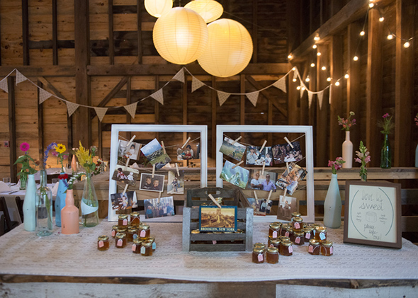 rustic wedding details A Rustic Outdoor I Do in High Falls, New York