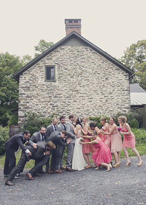 rustic wedding ideas A Rustic Outdoor I Do in High Falls, New York