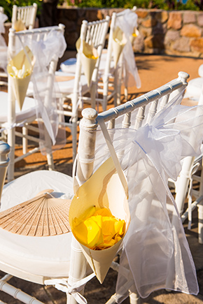 yellow wedding A Cheerful Beachside Wedding in Puerto Vallarta, Mexico