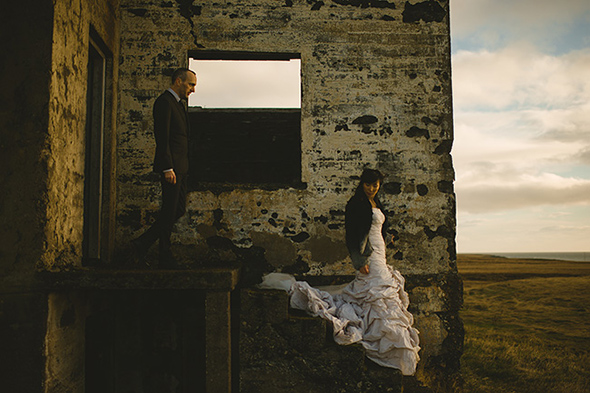best destination wedding photographers A Destination Elopement in Iceland!