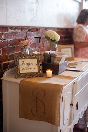 burlap wedding A Burlap Inspired Destination Wedding in Florida