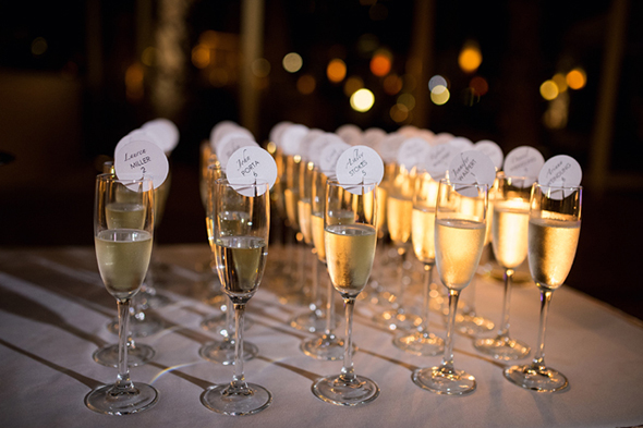 champagne place cards