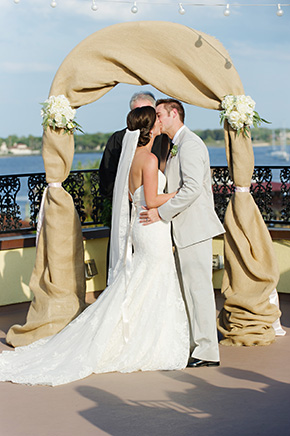 costal fl weddings A Burlap Inspired Destination Wedding in Florida