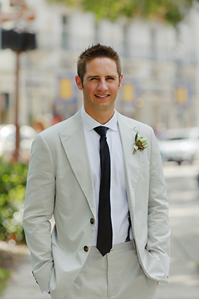 destination groom suit A Burlap Inspired Destination Wedding in Florida