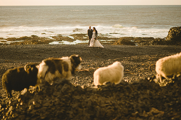 destination wedding photographers A Destination Elopement in Iceland!