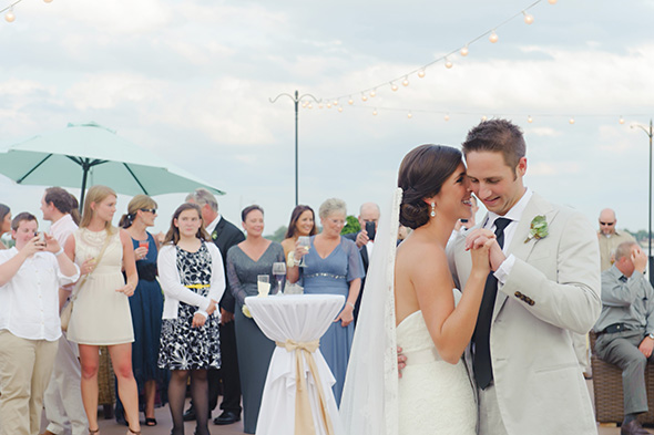 first dance songs A Burlap Inspired Destination Wedding in Florida