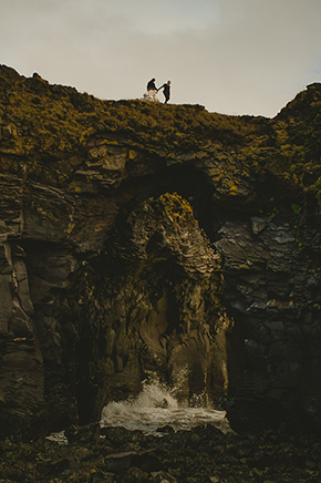 iceland destination weddings A Destination Elopement in Iceland!