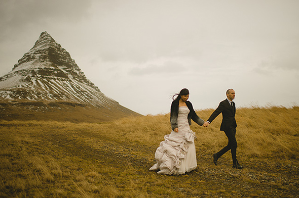 iceland wedding photographers A Destination Elopement in Iceland!