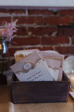 wedding program ideas A Burlap Inspired Destination Wedding in Florida