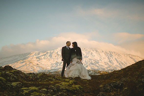 winter wedding A Destination Elopement in Iceland!