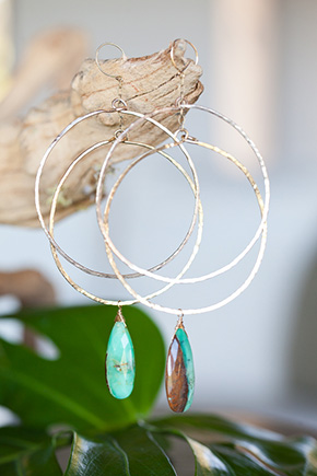 beach wedding jewelry Tropical Wedding + Honeymoon Ideas