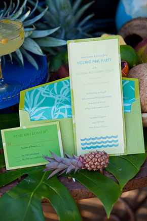 beach wedding Tropical Wedding + Honeymoon Ideas
