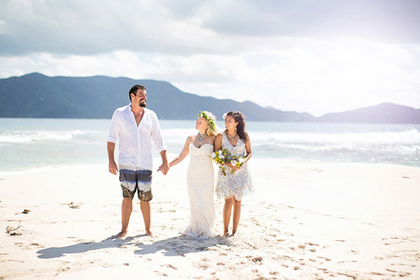 bvi beach wedding