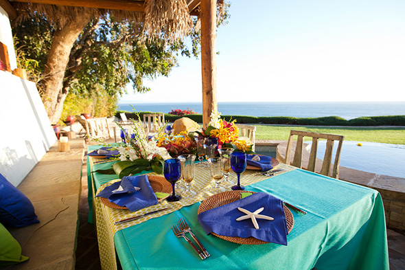 colorful weddings Tropical Wedding + Honeymoon Ideas