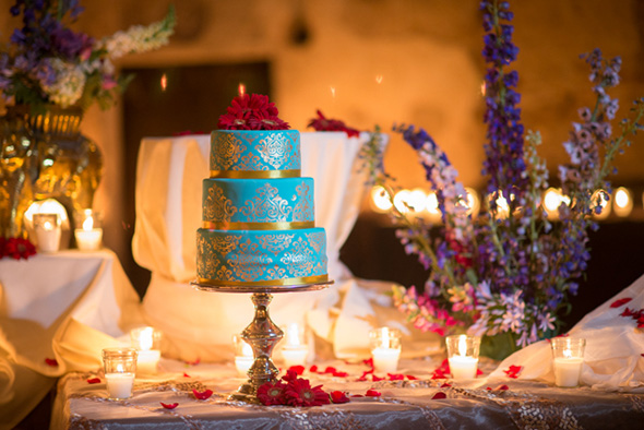 indian wedding cakes A Jewish + Hindu Destination Wedding in Antigua, Guatemala