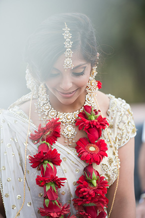indian wedding dresses A Jewish + Hindu Destination Wedding in Antigua, Guatemala