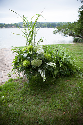 lake wedding michigan A Preppy Lake Wedding in Michigan