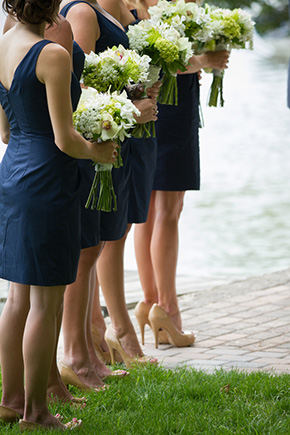 preppy wedding A Preppy Lake Wedding in Michigan