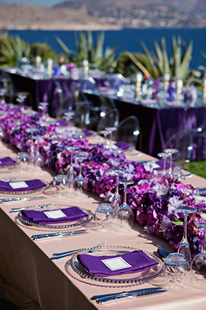 Purple Prettiness At This Destination Wedding In Athens